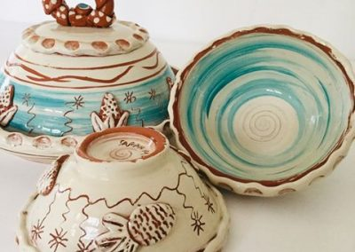 studio potter sarah monk slipware tableware & kitchenware handmade at eastnor pottery ledbury herefordshire sarahmonkceramics studio pottery & ceramics wheel thrown