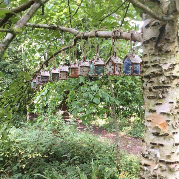bug houses at hellens manor garden festival 2020