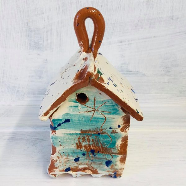 bug house in tealmade by sarah monk front view