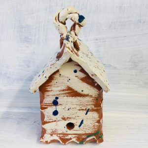 white slip ware bug house by sarah monk